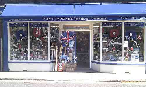 Traditional Ironmongers Sandwich Kent